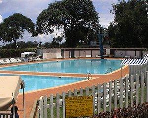 swimming pool at lake victoria hotel