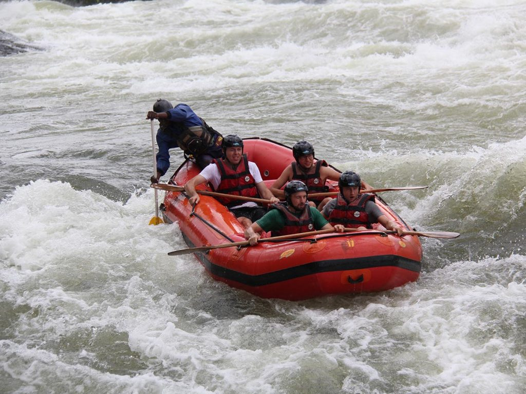 Jinja White Water Rafting on the Nile River