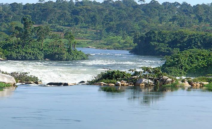 Nile River in Jinja