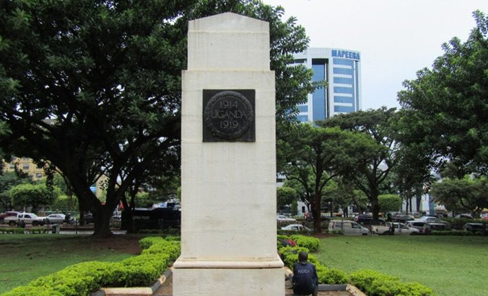 World War Memorial Monument in Kampala