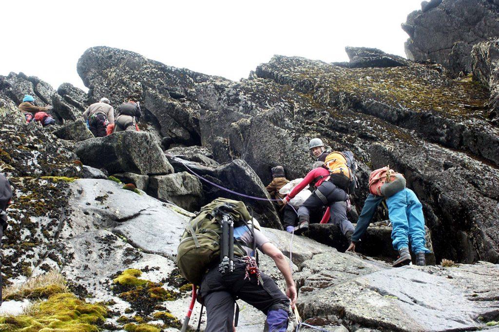 hiking rwenzonri mountains