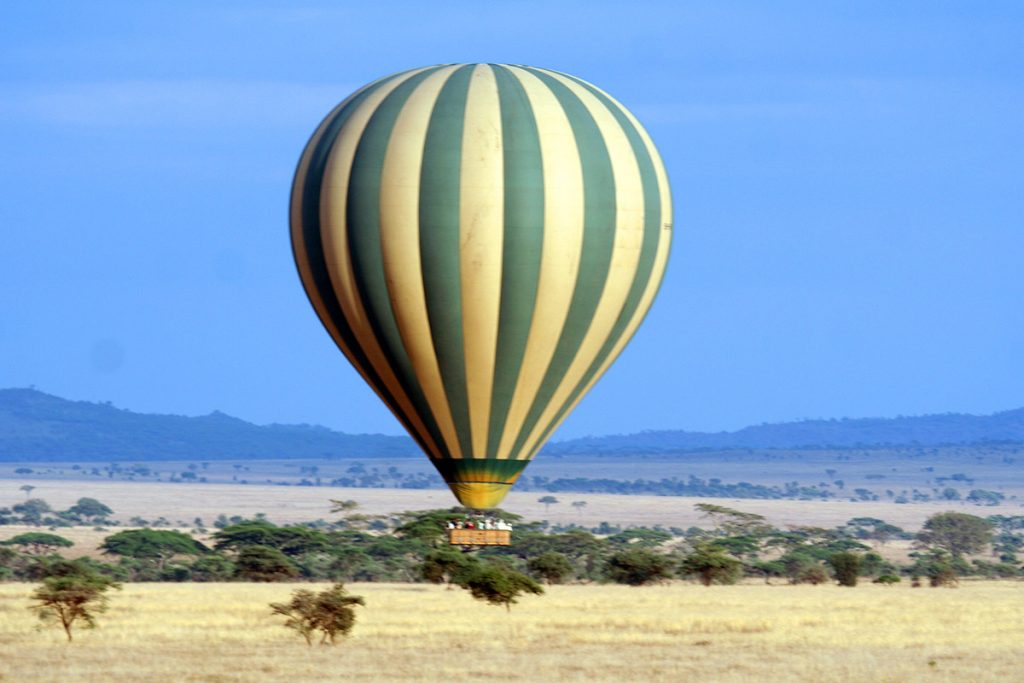 3 Day Murchison falls hot air balloon safari